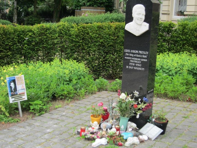Elvis statue in Bad Nauheim