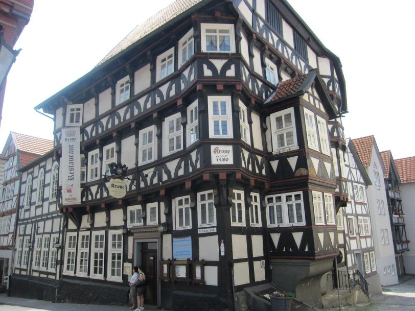 Homberg - old restaurant