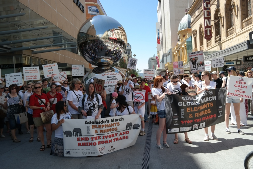 """Marchers by Adelaide """"Malls Balls"""""""